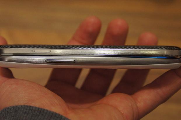 Samsung Galaxy S4 Seitenlinie im Vergleich