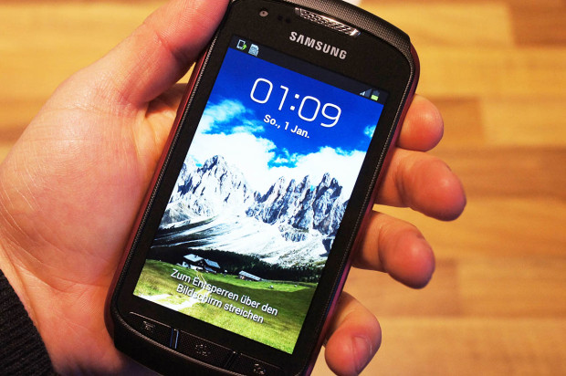 Samsung Galaxy Xcover2 main 620x412 Das Samsung Galaxy Xcover 2 im Härtetest [Video]