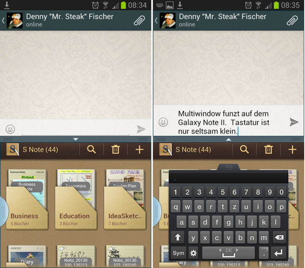 WhatsApp Multi window 620x546 WhatsApp in neuer Beta Version mit Multi Window