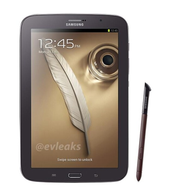 Galaxy note 80 brown black 537x620 Samsung Galaxy Note 8.0 in braun schwarz aufgetaucht