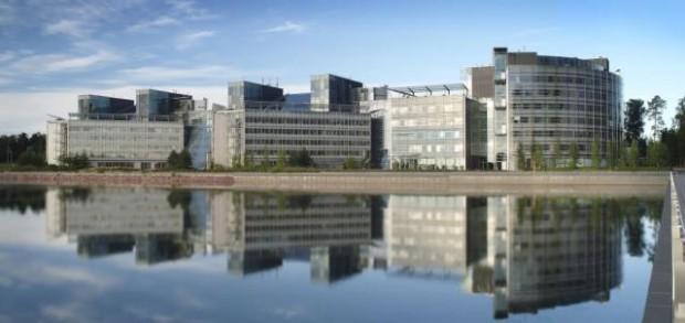 Nokias Zentrale in Finnland