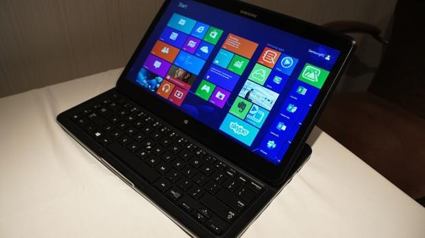 Ausführlicheres Hands-On mit dem Samsung ATIV Q