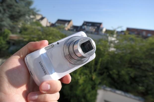 Hat bereits ein 16 MP Sensor: Das Samsung Galaxy S4 Zoom