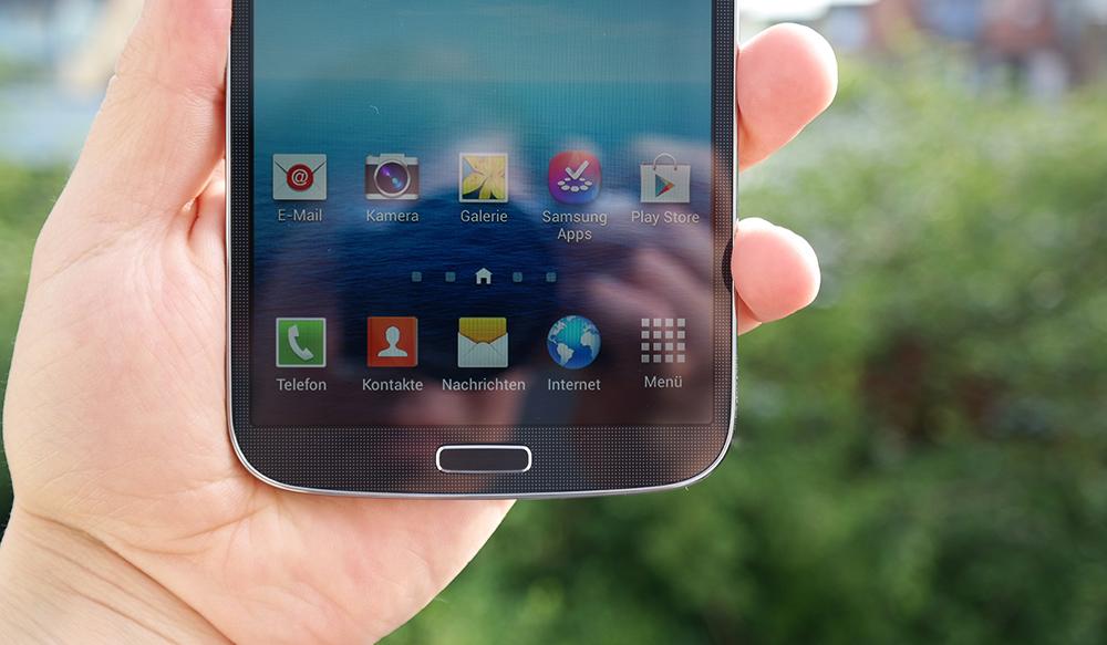 """Ein älteres Galaxy Mega Modell - kein direkter Bezug zu den """"On"""" Geräten"""