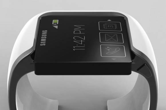 Ein Konzeptbild der Samsung Smartwatch