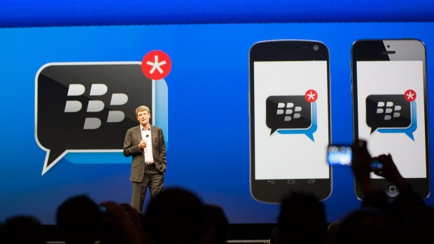 BBM Press Event 620x348 BlackBerry Messenger wird in den Samsung Apps landen