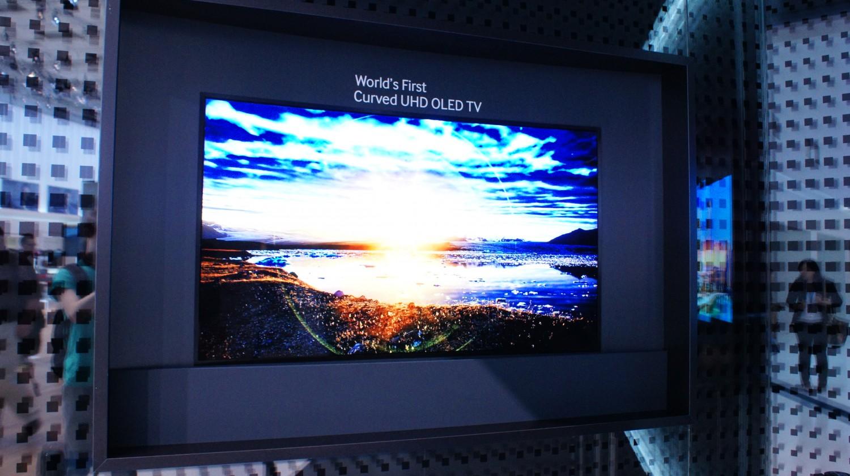 Curved UHD OLED TV