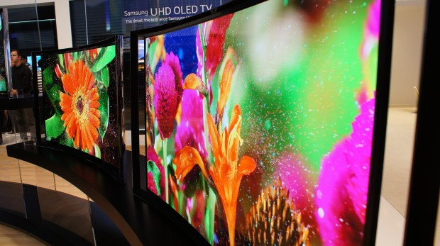 Curved UHD OLED TV