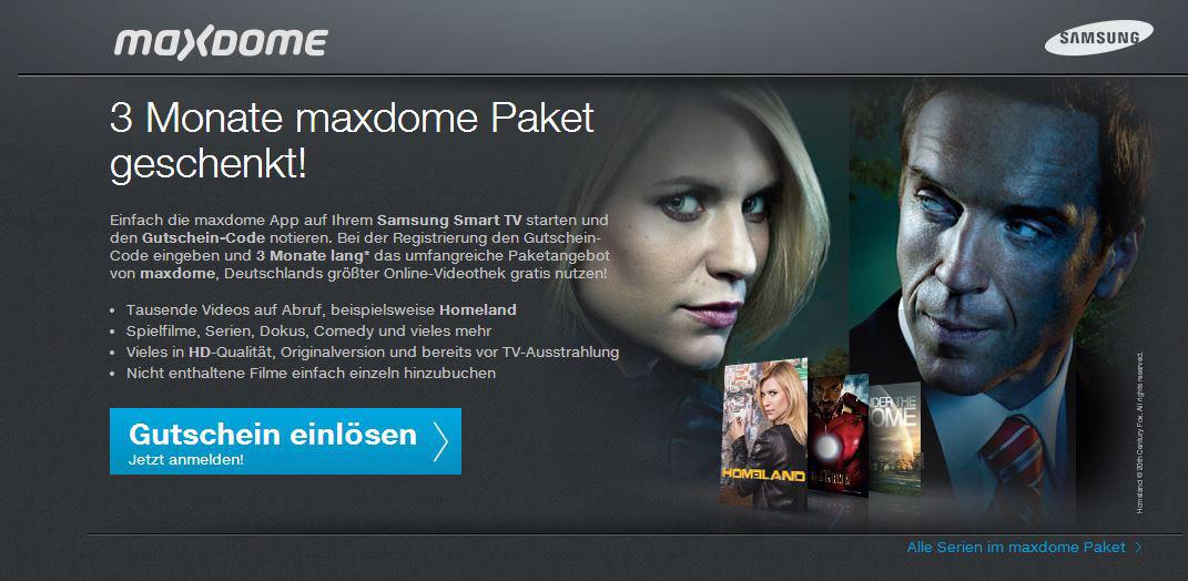 Www.Maxdome.De/Samsung
