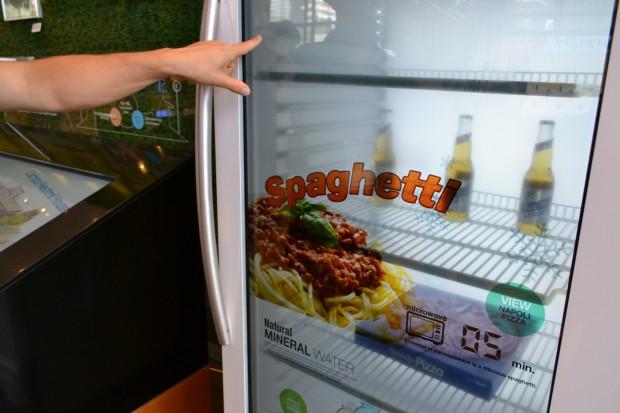 So stellt Samsung sich die Zukunft der Kühlschränke vor