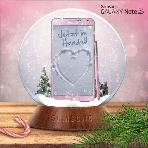 Galaxy Note 3 Pink
