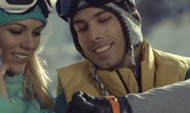 gear ski werbung