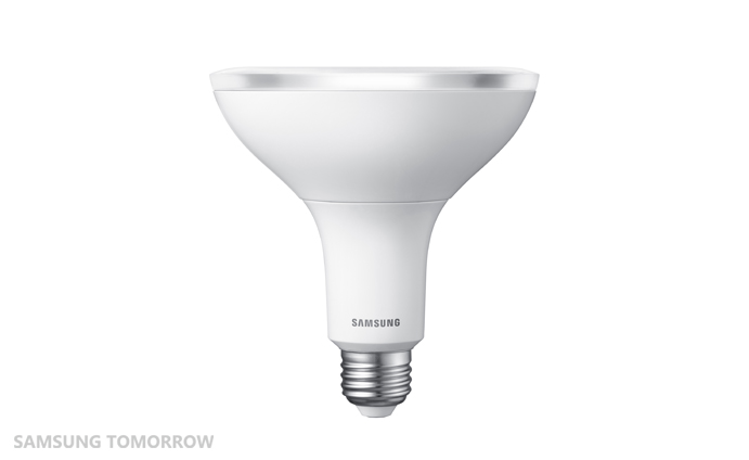 samsung stellt neue led lampen vor all about samsung. Black Bedroom Furniture Sets. Home Design Ideas