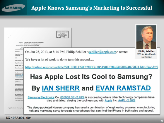 SchillerExhibit Samsungs Next Big Thing Kampagne machte Apples Marketingchef Phil Schiller wahnsinnig