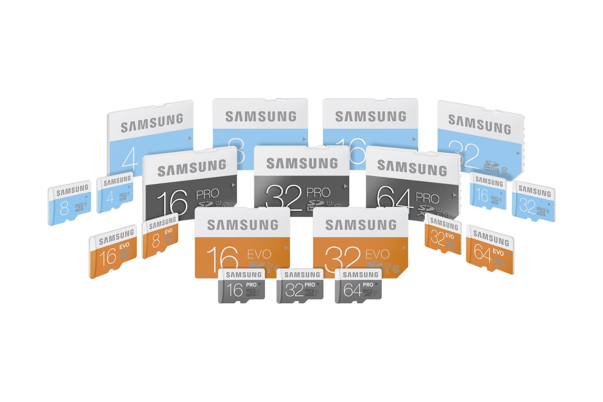 sd karte samsung Samsung stellt neue SD Karten Serien vor: Standard, EVO und PRO