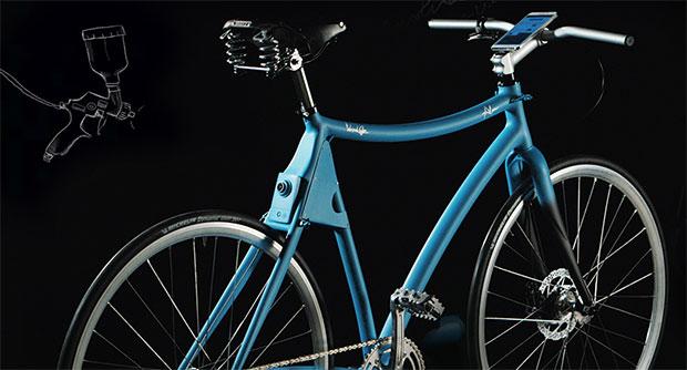 Samsung Smart Bike: Das sichere elektronische Fahrrad