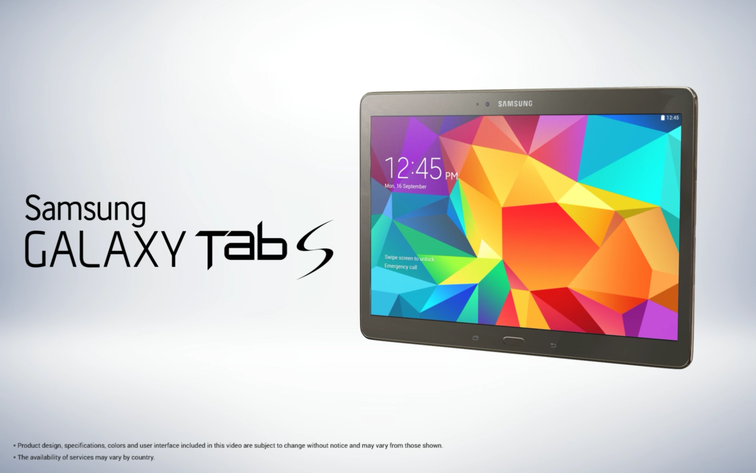 Galaxy Tab S: Weitere Bilder zum Tablet aufgetaucht - All About Samsung