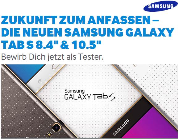 Galaxy-Tab-S-Testen