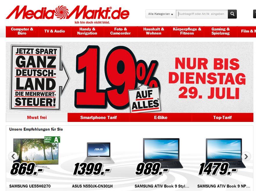 Rabatt Mediamarkt