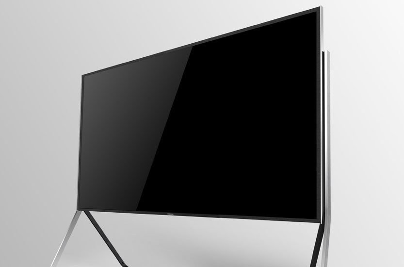 samsung un78s9b 78 zoll biegsamer 4k curved lcd tv in. Black Bedroom Furniture Sets. Home Design Ideas