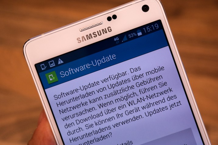 Samsung Galaxy Note 4 Update