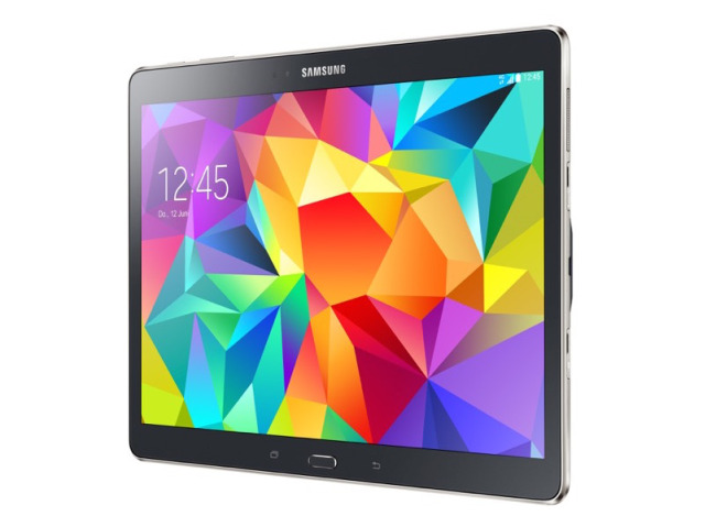 samsung galaxy tab s 10 5 in der farbe charcoal grey ab. Black Bedroom Furniture Sets. Home Design Ideas
