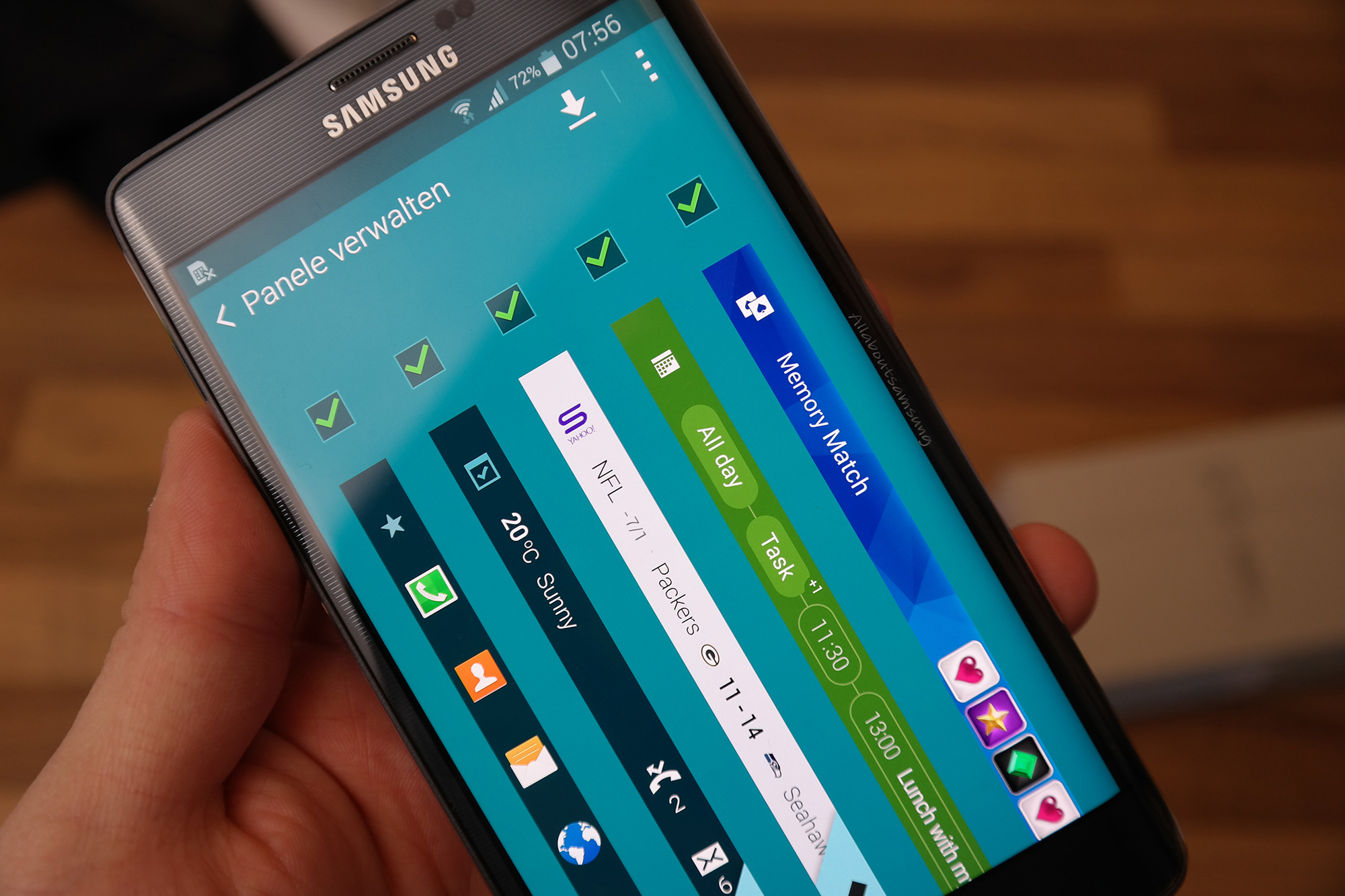 Test: Samsung Galaxy Note Edge