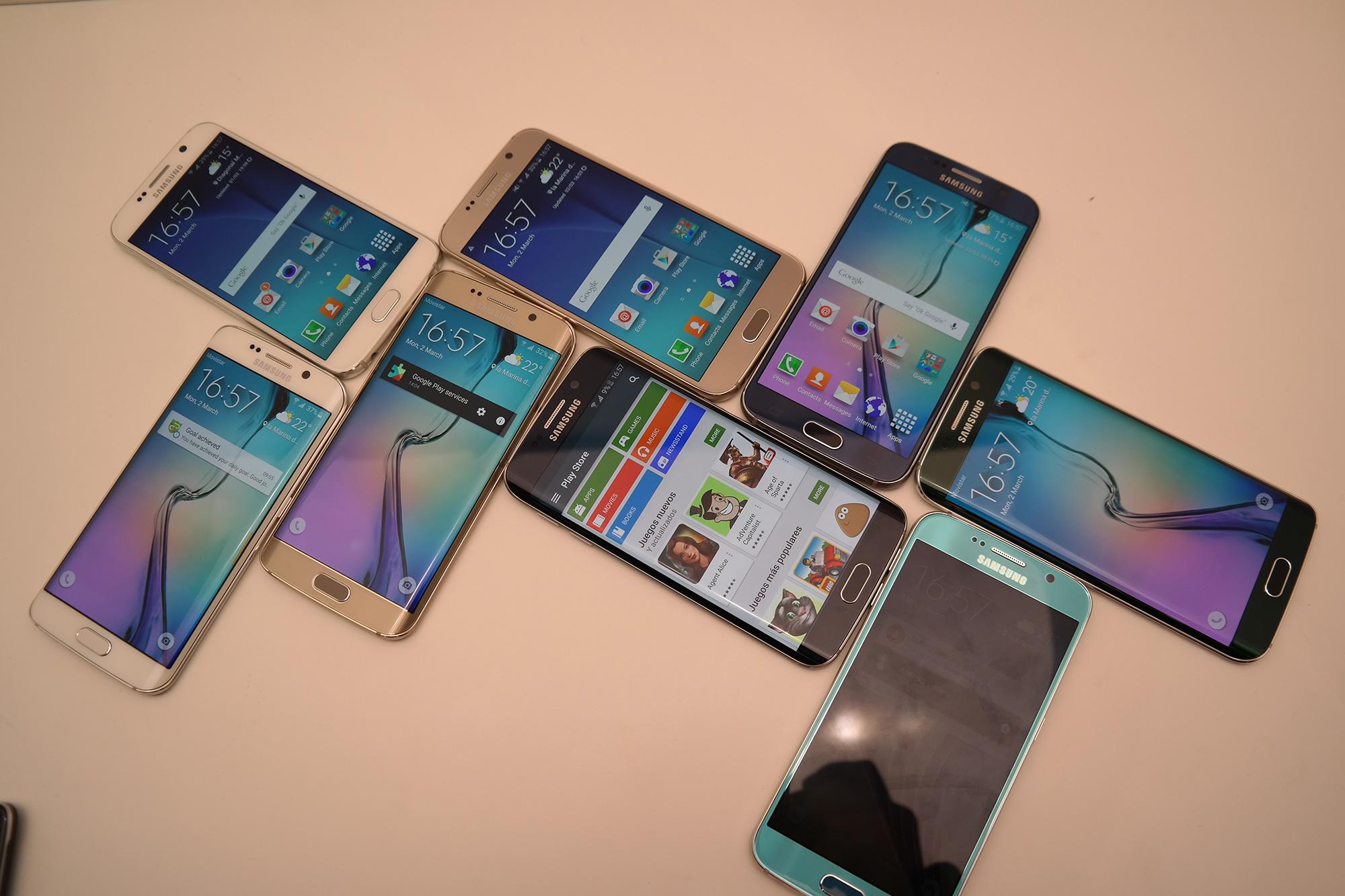 Rund 50 Minuten mit dem Galaxy S6 und Galaxy S6 Edge im Video