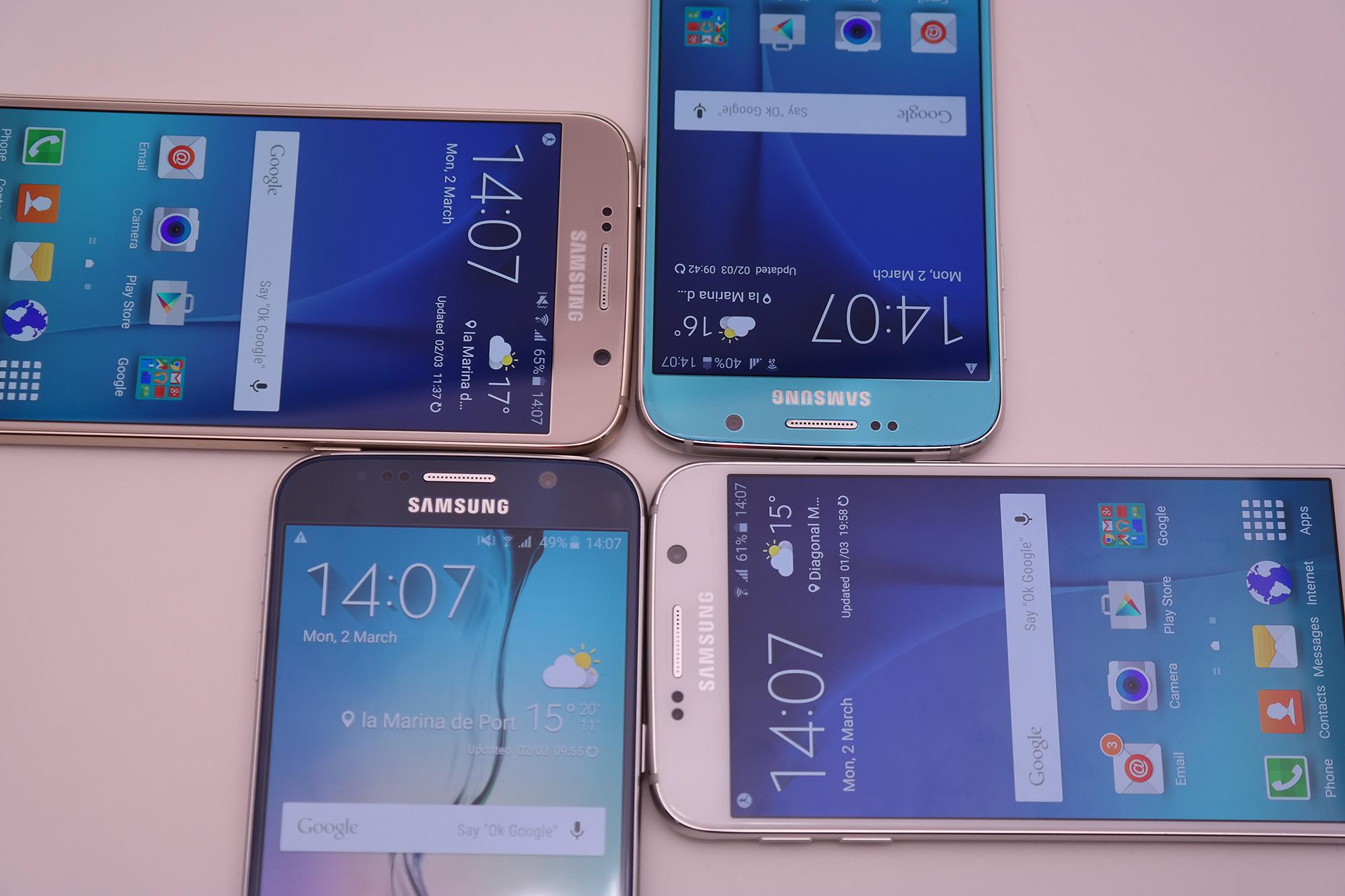 Galaxy S6: Vorbestellungen in der Schweiz vier Mal höher als beim Galaxy S5