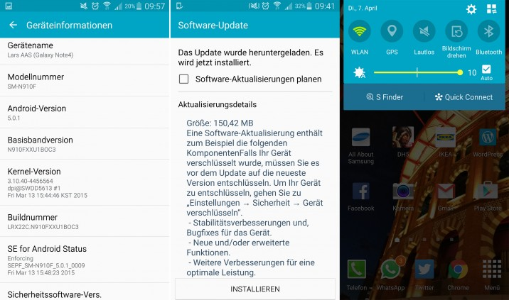 GalaxyNote4_Lollipop_Update_details