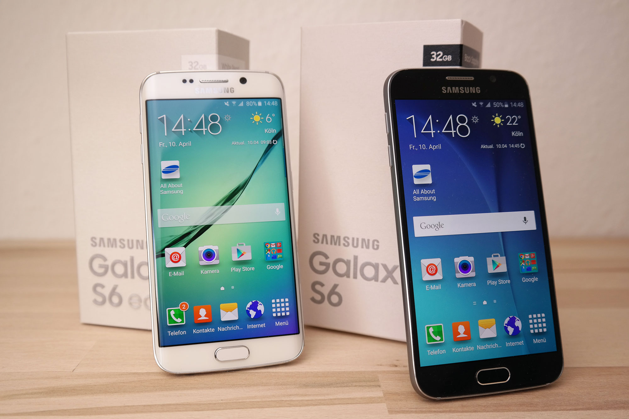 samsung galaxy s6 und galaxy s6 edge testbericht all. Black Bedroom Furniture Sets. Home Design Ideas
