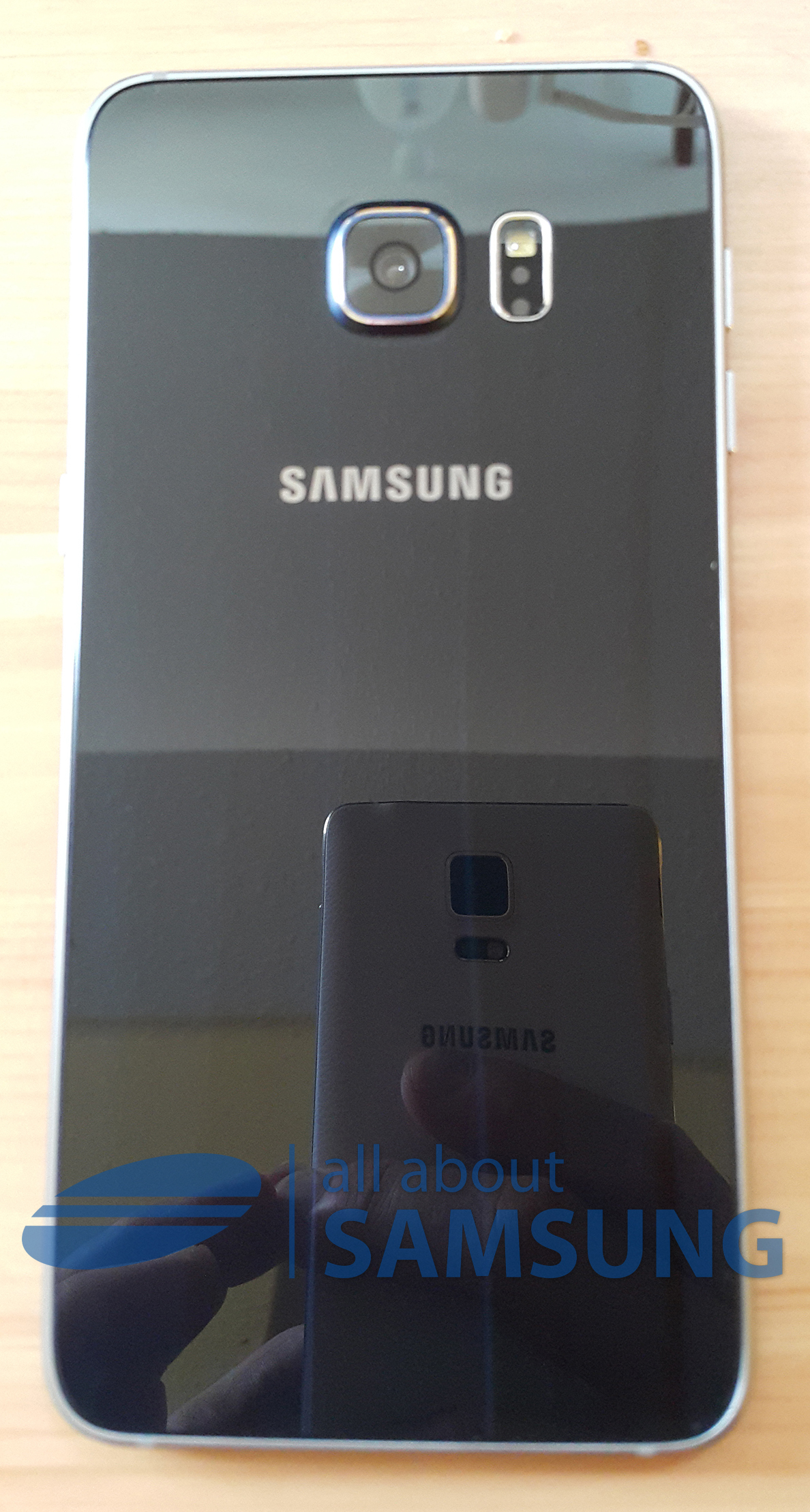 galaxy s6 edge plus back