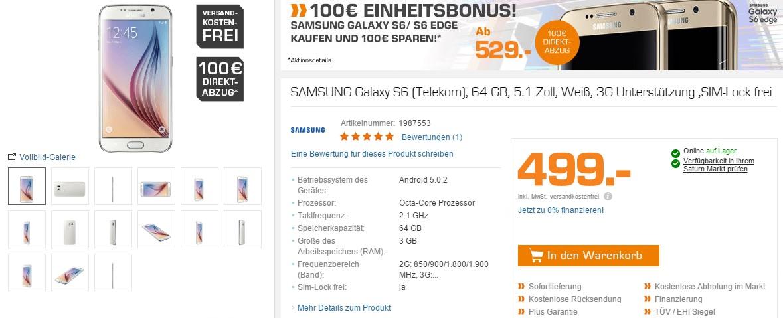 Samsung Einheitsrabatt