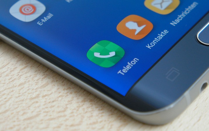 Die Edge des Galaxy S6 edge+