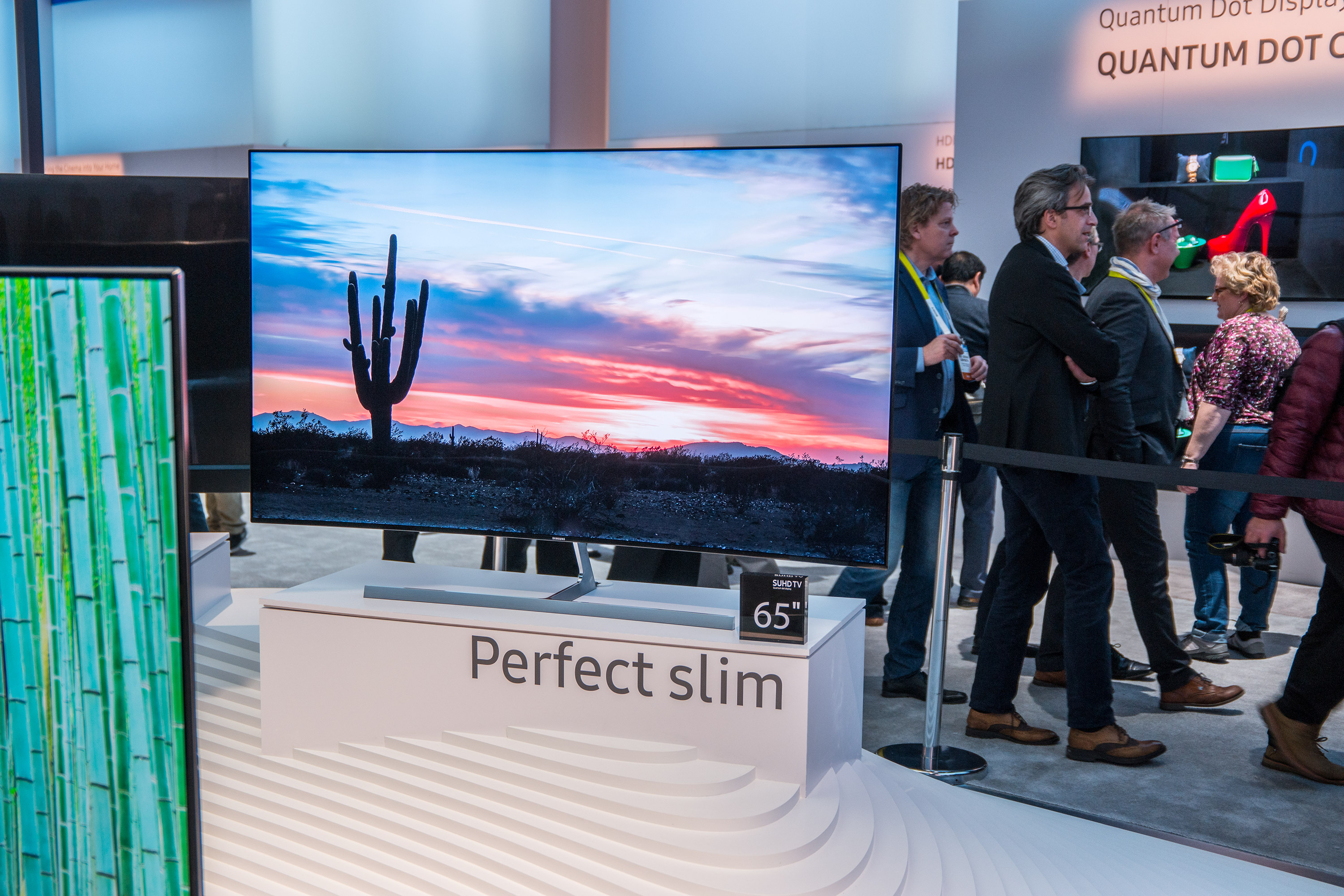 samsung ks9090 das neue suhd modell auf der ces angeschaut 4k all about samsung. Black Bedroom Furniture Sets. Home Design Ideas