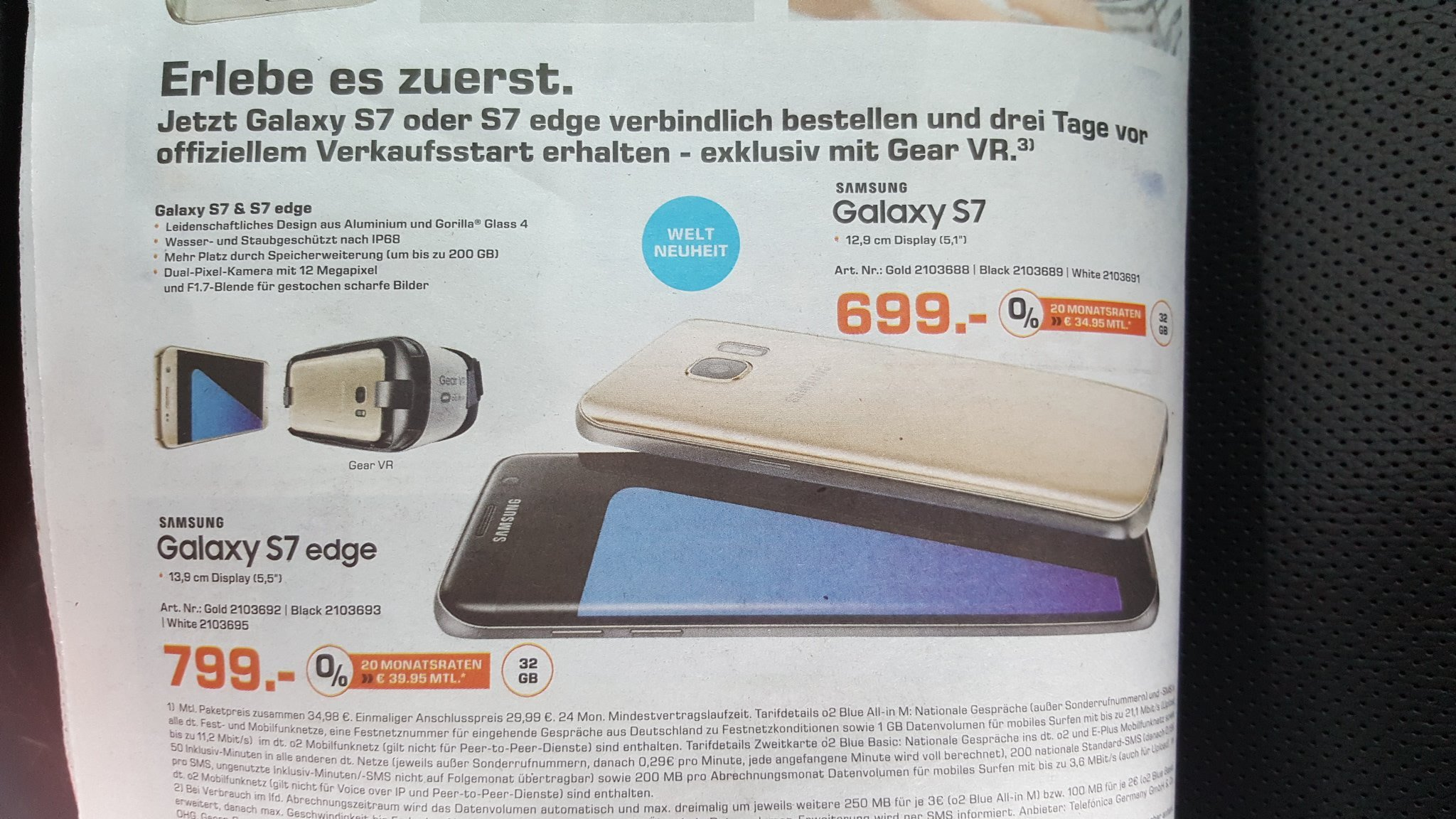 Update Neues Video Saturn Patzt Grundpreise Des Galaxy S7