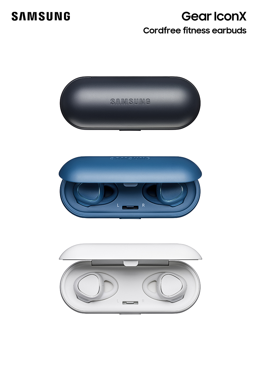 samsung gear iconx vorgestellt kabellose inear kopfh rer. Black Bedroom Furniture Sets. Home Design Ideas