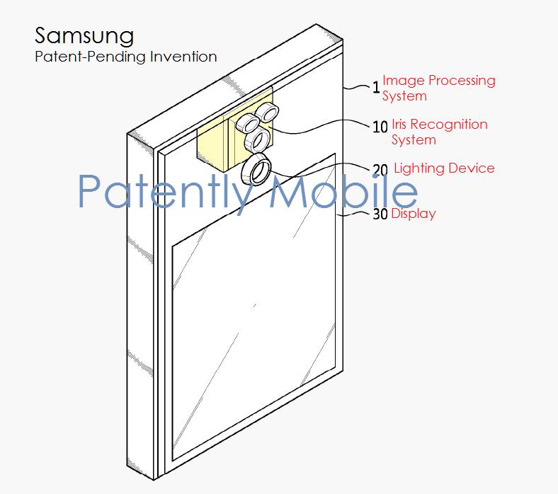 Samsung-IrisScanner-Patent