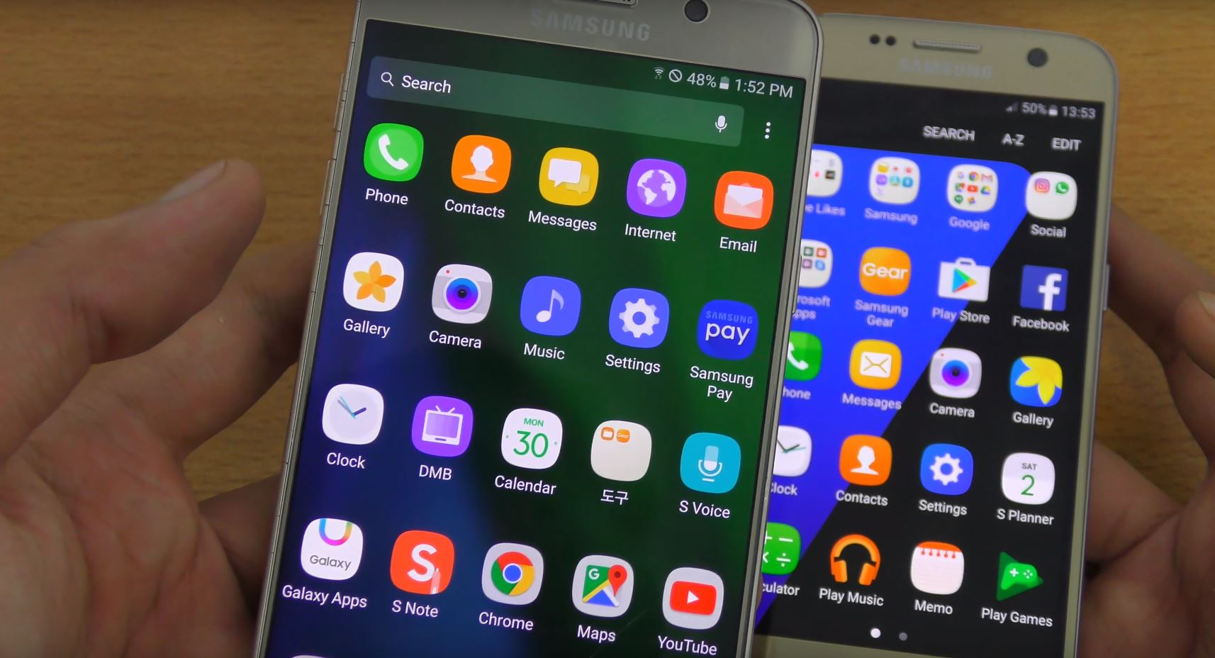 Grace UX update for the Note 5 - Samsung Rumors