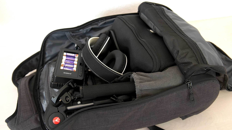 rucksack öffnung rückseite
