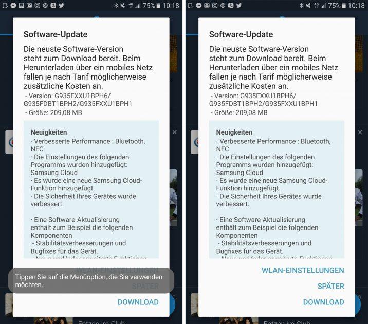 Update Galaxy S7