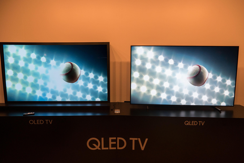 samsung qled tvs vorgestellt vollgas gegen oled 4k all about samsung. Black Bedroom Furniture Sets. Home Design Ideas