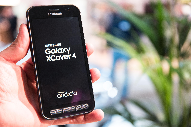 Samsung Galaxy Xcover 4 Vorgestellt Robuste Untere