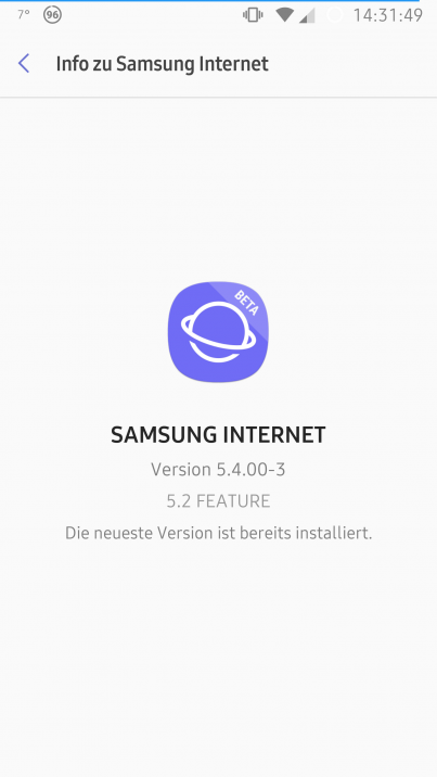 Samsung Internet-App: Beta-Version veröffentlicht - All