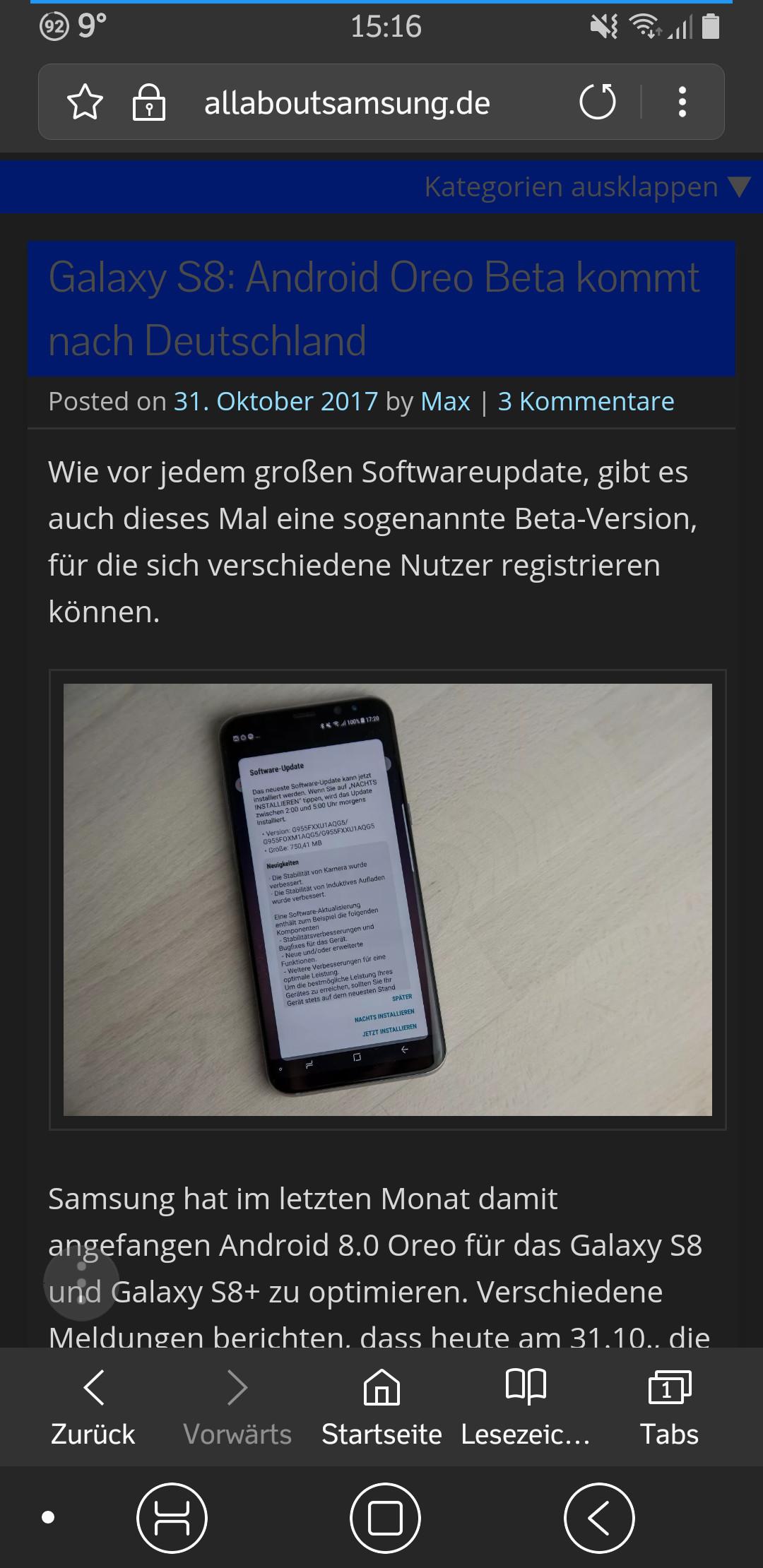 Samsung Internet Deaktivieren