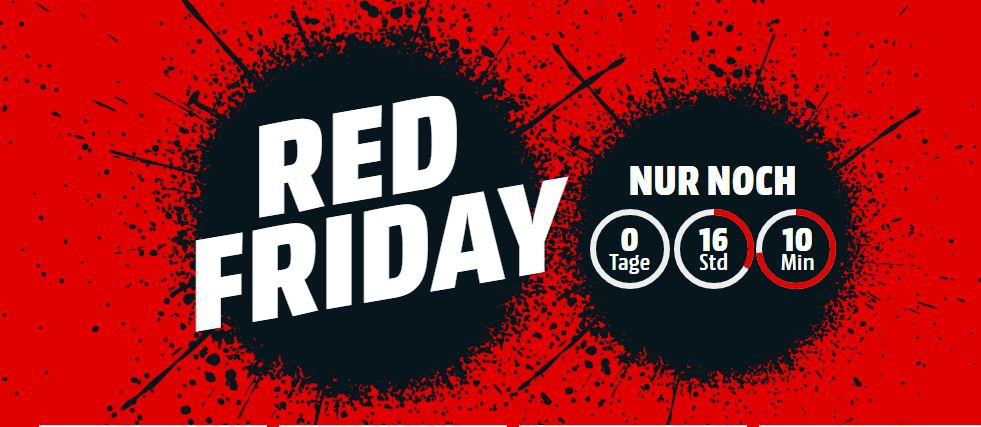 Red Friday Bei Media Markt Galaxy S8 Für 561 Euro 55 Zoll 4k