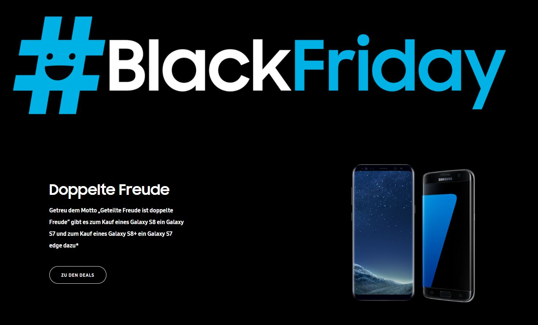 samsung black friday galaxy s8 kaufen galaxy s7 edge gratis dazu und ein s7 beim kauf des. Black Bedroom Furniture Sets. Home Design Ideas