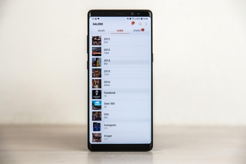 Samsung Galaxy S7 Sd Karte Als Standardspeicher.Sandisk Ultra 400gb Microsd Mit Dem Galaxy Note8 Ausprobiert All