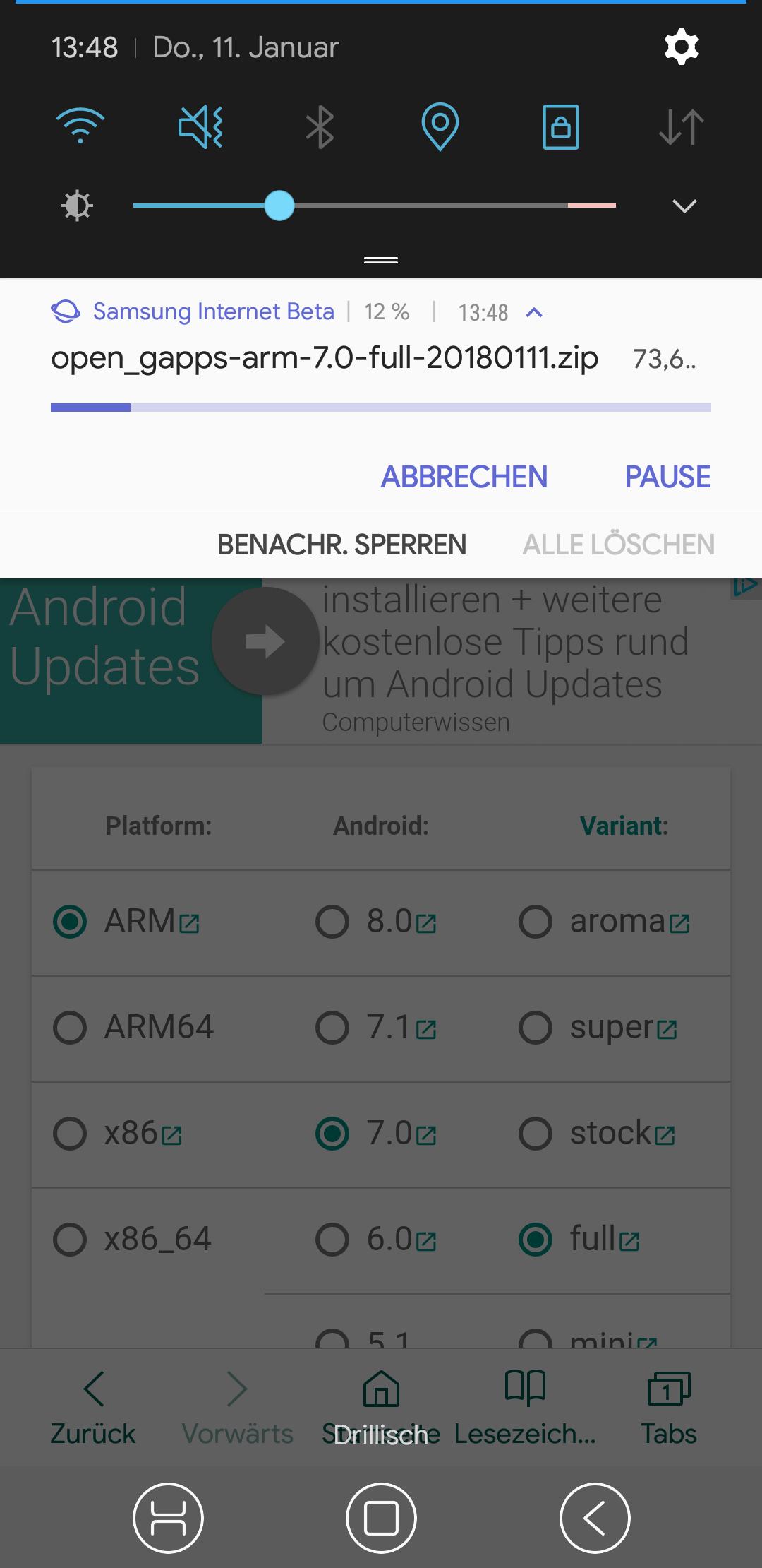 Samsung Internet Beta v6.4 veröffentlicht, Game Recorder+ und ...