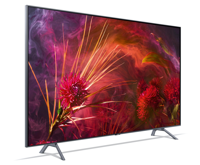 Samsungs TV-Portfolio 2018: neue QLEDs können sich tarnen und haben ...